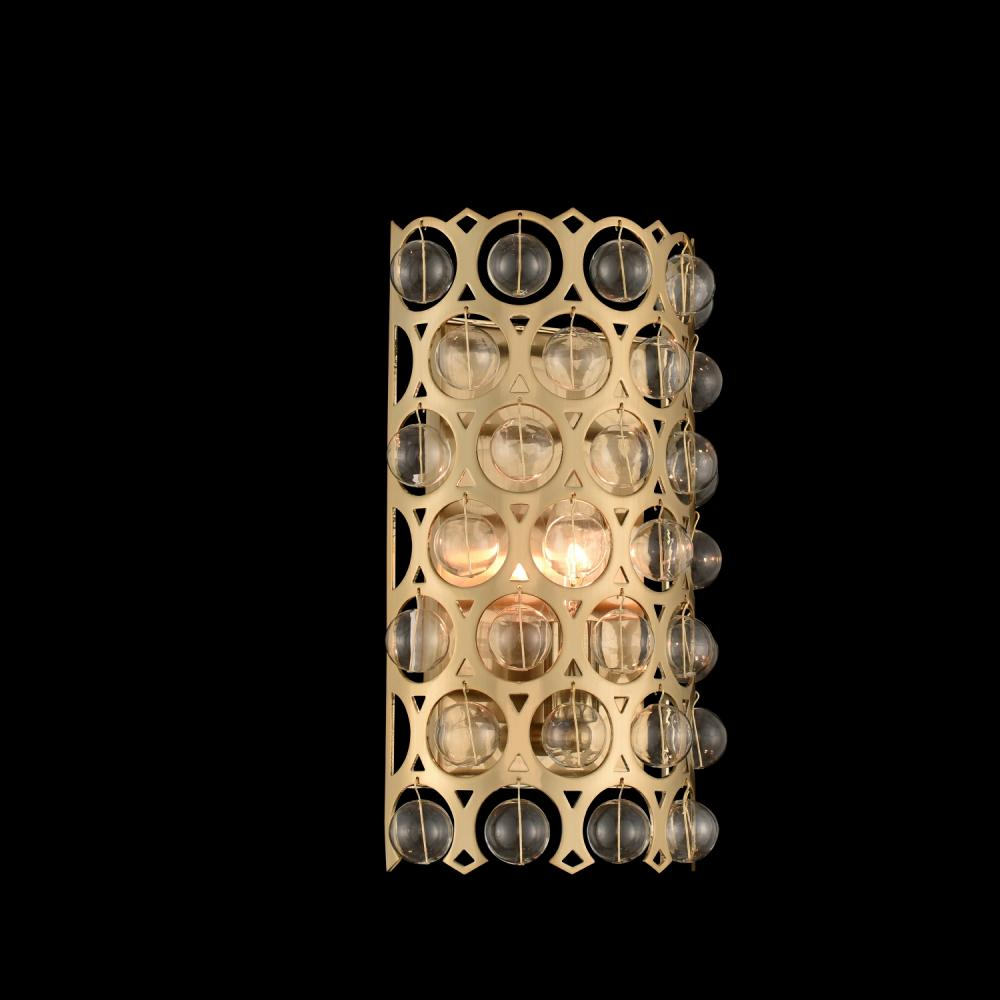 Vita 1 Light Wall Sconce 032220 038 Fr001 Elegance Lighting