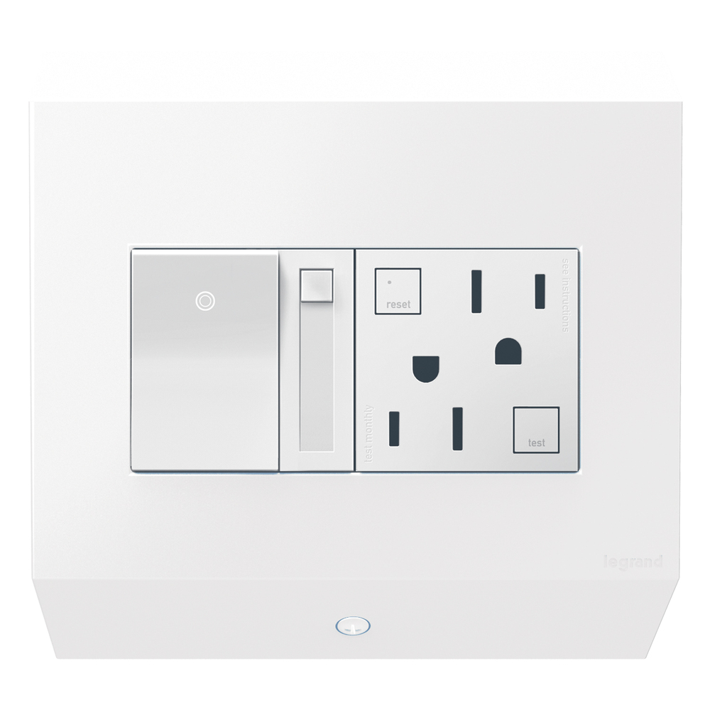 Control Box with Paddle Dimmer and 15A GFCI : APCB6W2 | Elegance ...