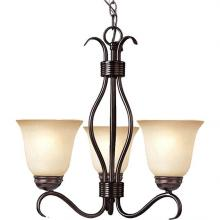 Maxim 10123WSOI - Basix 3-Light Chandelier