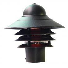 Acclaim Lighting 87ABZ - Mariner Collection Post-Mount 1-Light Outdoor Architectural Bronze Light Fixture