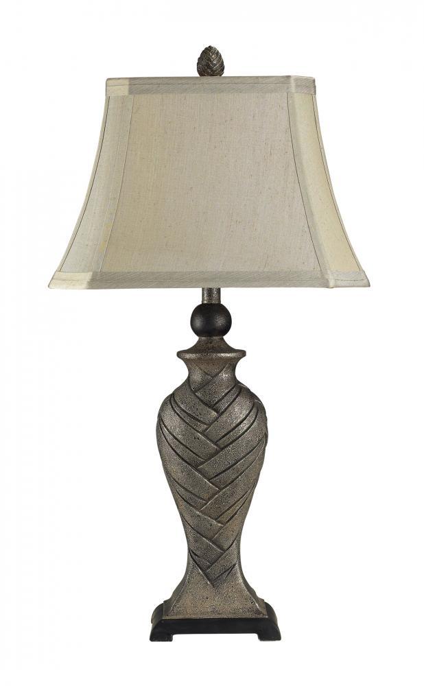 Kirkland silver table lamp 113 1122 elegance lighting kirkland silver table lamp aloadofball Choice Image