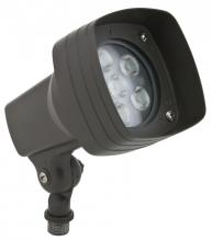 American Lighting GSQ-660-47-DB - Square Ground Flood With Knuckle, 100-277 Volt, 13 Watt, 4700 K, C/UL Wet Locations