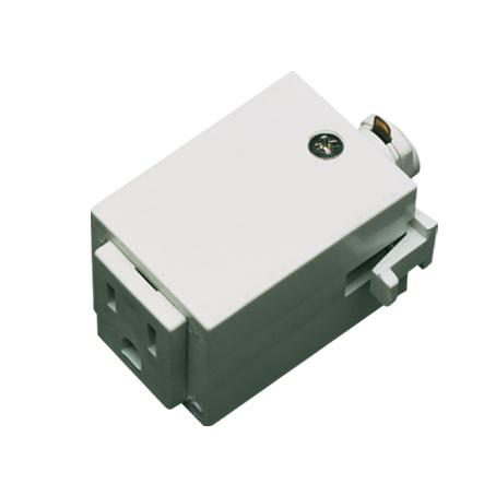 Outlet Adaptor (3 Wires) : HT-277-WH | Elegance Lighting