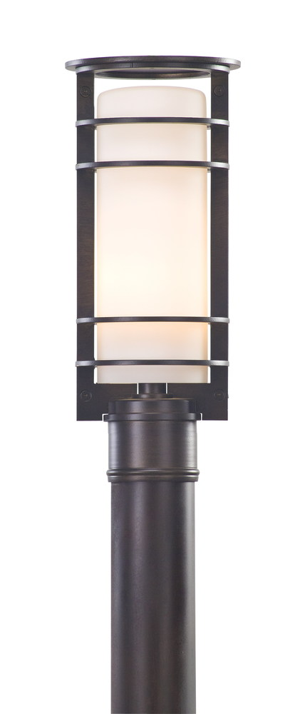vibe 1lt post lantern p6066ba elegance lighting